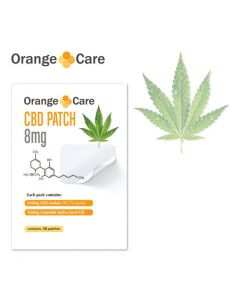 Orange Care CBD Patch – Cannabidiol pleister