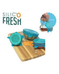 Silic' o Fresh - Kleine silicone deksel - 3 stuks
