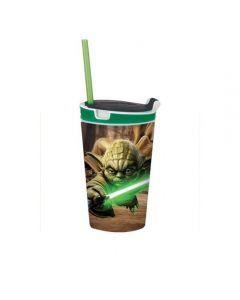 Snackeez Jr. - Yoda - Star Wars drinkbeker en snackbox in één