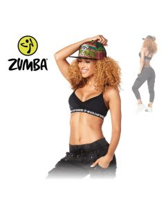 Zumba Never Stop Dancing Bra - Black L