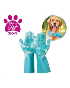 Silicon Pet Gloves - 1 paar