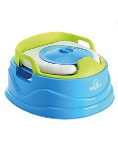 Babyloo Bambino 3-in-1 Potty - Blue/Green
