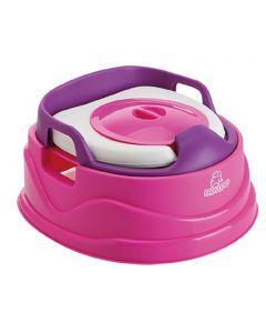 Babyloo Bambino 3-in-1 Potty - Pink/Purple