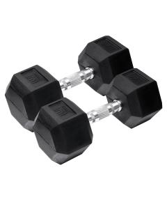 Orange Gym – Hex Dumbbell – 10kg – set van 2