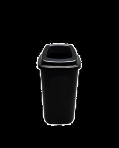 Plafor Prullenbak 45L – Recycling – Zwart