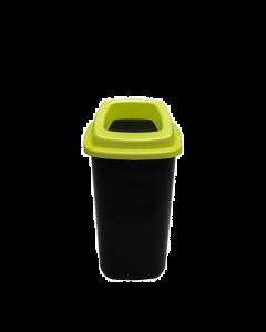 Plafor Prullenbak 28L – Recycling – Groen