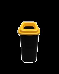 Plafor Prullenbak 28L – Recycling – Geel