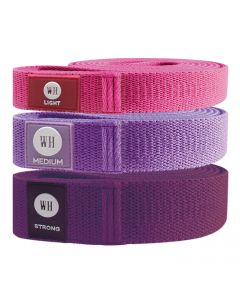 Women's Health - Soft Resistance Bands - 3 Set